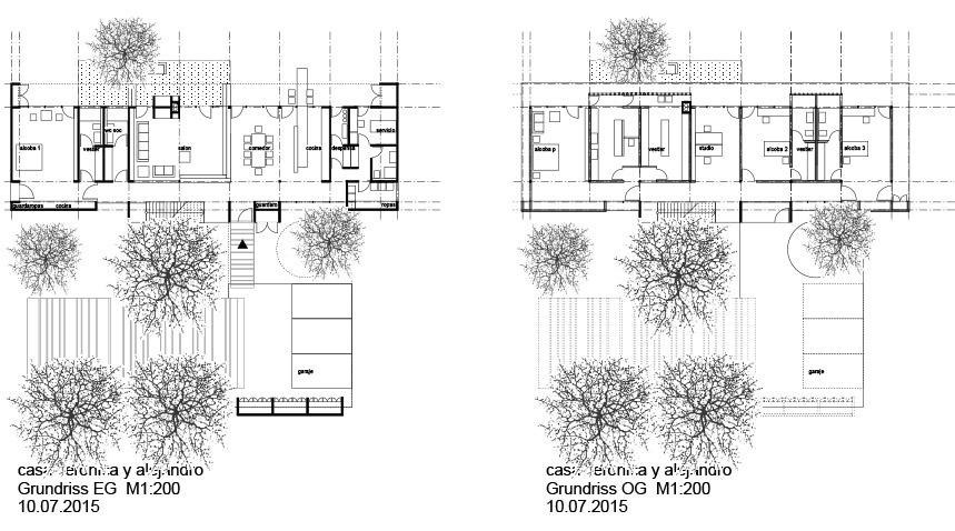 Schürmann Zoll Architekten Casa Veronica y Alejandro